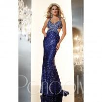 wedding photo - Fuchsia Panoply 14621 - Cut-outs Open Back Sequin Sexy Dress - Customize Your Prom Dress