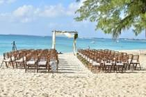wedding photo - BEAUTIFUL BOHO-CHIC GRAND CAYMAN BEACH WEDDING