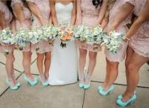 wedding photo - Lace Bridesmaid Dress