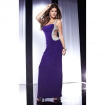 wedding photo - Majestic Purple Panoply 14553 - Crystals Cut-outs Sequin Dress - Customize Your Prom Dress