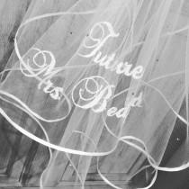wedding photo - Future Mrs Bridal Hen Party Veil