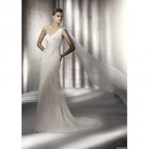 wedding photo - Pronovias Wedding Dresses - Style Parador - Junoesque Wedding Dresses