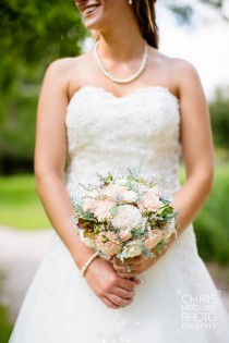 wedding photo - Wedding Bouquet, Sola wood Bouquet, Bridal Bouquet, Alternative Bouquet, Sola Bouquet, Sola flowers, Wood Bouquet, Pale pink bouquet
