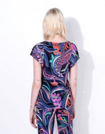 wedding photo - Emilio Pucci Black And Emerald Grasshopper Print Top