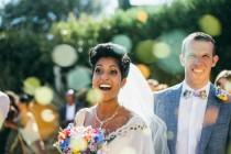 wedding photo - Colorful Tropical Wedding At The Costa Brava, Spain - Weddingomania