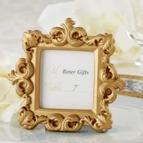 wedding photo - Beter Gifts® spring Beach party table Place Card Photo Frame decor BETER-SZ062