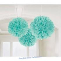 wedding photo - Beter Gifts®  Tissue Pom Pom Flower ZH037 DIY Wedding Decor Birthday Party