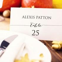 wedding photo - Wedding Place Card Template, Editable Instant Download, DIY Bride, Custom Personalized Seating Card, Escort Card, Wedding Printable,  - $6.50 USD
