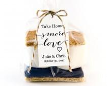 wedding photo - Take Home S'MORE Love Tag Template, Wedding Favor Tag Template, DIY Editable, Printable Custom Favor Tags, Gift Tags,Wedding Tags,  - $6.50 USD