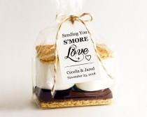 wedding photo - Sending You S'MORE Love Tag Template, DIY Editable Download, Printable Custom Favor Tags, Gift Tags, Wedding Tags, Wedding Printables - $6.50 USD