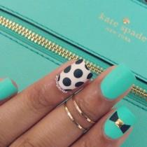 "wedding photo - Gabby On Instagram: "" Simple Nails To Match My Purse This Color Is @flossgloss-""Wet"""""