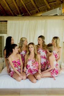 wedding photo - Bridesmaid Romper, Bridal Party Romper, Personalised Romper, Bridesmaid Gift, Wedding Romper, Bridesmaid Playsuit, Bridesmaid Jumpsuit