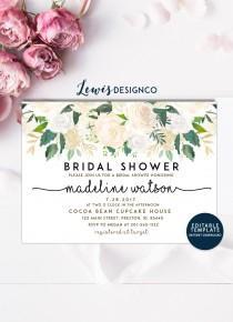 wedding photo - Bridal Shower Invitation