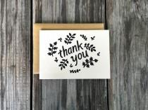 wedding photo - Baby Shower Thank You Cards, Baby Shower, Hand Made Card, Thank You Cards, Rustic Thank You