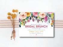 wedding photo - INSTANT DOWNLOAD bridal luncheon invitation / bridal brunch invitation / bridesmaids luncheon invitation / bridesmaids brunch invitation