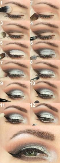 wedding photo - Silver Cut Crease Tutorial
