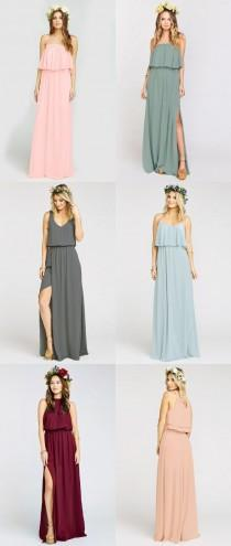 wedding photo - Boho Bridesmaid Dresses