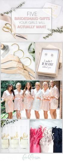 wedding photo - Bridesmaids Gift Ideas