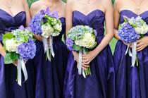 wedding photo - Hydrangea Arrangements