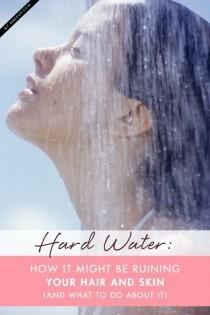 wedding photo - Hard Water: How It Might be Ruining Your Hair and Skin