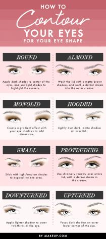 wedding photo - How to Contour Your Eyes for Your Eye Shape l Makeup.com
