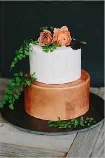 wedding photo - 50 Amazing Vintage Bronze & Copper Wedding Color Ideas