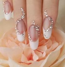 wedding photo - Tips Manicura De Novia//Wedding Bridal Nails