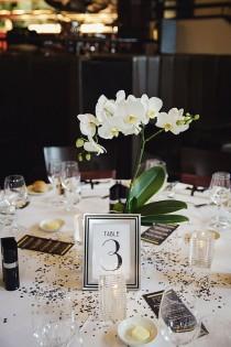 wedding photo - An Art Deco Wedding At The Daffodil