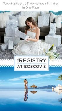 wedding photo - Wedding Registry and Honeymoon Planning at Boscov's...a perfect couple! - Belle The Magazine