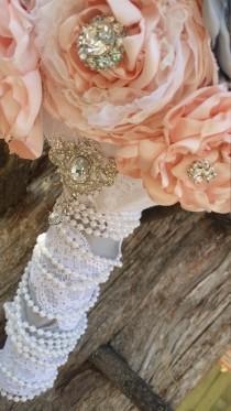 wedding photo - Vintage style bridal bouquet