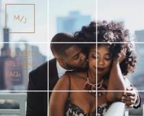 wedding photo - No wedsite needed: an Instagram wedding website is au courant