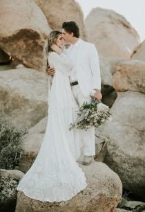 wedding photo - Ultimate Boho Inspo at The Ruin Venue in Joshua Tree