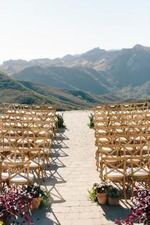 wedding photo - Malibu Wedding In the Clouds Photographed by Annie McElwain