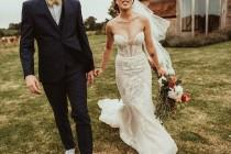 wedding photo - A Pallas Couture Bridal Gown For A Fun And Colourful Summer Wedding