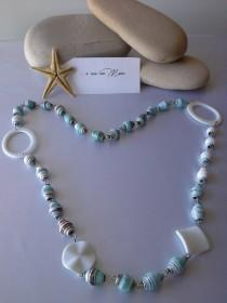 wedding photo - Collana con perle di carta -  Necklace with pearl paper - pearl paper - eco gioielli - gioielli creativi - fatta a mano - fatta in Italia