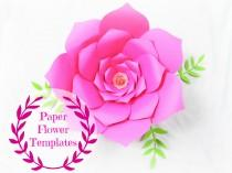 wedding photo - DIY Wedding Paper flowers- Flower templates- SVG cut files- Backdrop flowers - Giant paper flowers- paper flower template- Wedding decor