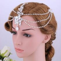 wedding photo - Bridal Hair Comb, Wedding Hair Comb, Pearl and Crystal Hair Comb, Wedding Hair Accessories, Bridal Headpiece, Wedding Hair Pin