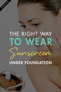 wedding photo - The Right Way to Wear Sunscreen Under Foundation.Makeup.com