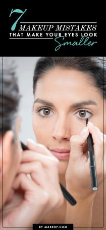 wedding photo - 7 Makeup Mistakes That Make Your Eyes Look Smaller