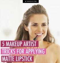 wedding photo - 5 Makeup Artist Tricks for Wearing Matte Lipstick .Makeup.com