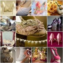 wedding photo - Bridal Wedding Shoe Inspiration
