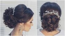 wedding photo - Wedding Hair Comb Rhinestone Headpiece Bridal Hair Comb Bridal Head Piece Bridal Headpiece Wedding Hair Piece Bridal Large Decorative Comb