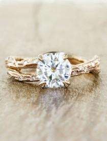 wedding photo - Stunning Lab Created Diamonds from Ken & Dana Design - MODwedding