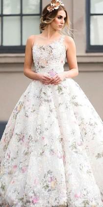 wedding photo - 24 Real Brides In Ines Di Santo Wedding Dresses