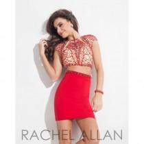 wedding photo - Rachel Allan Shorts 4066 - Elegant Evening Dresses