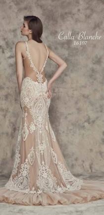 wedding photo - Gallery: Calla Blanche Fall 2016 Wedding Dresses 3