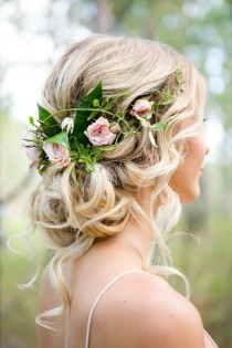 wedding photo - 100 Most-Pinned Beautiful Wedding Updos Like No Other