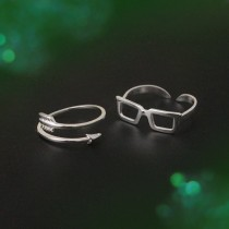 wedding photo - Olicity Ring, Arrow & Felicity Engagement Ring, You'll always be my Girl Ring, Arrow Ring, Sunglasses Ring, Olicity, Green Arrow Ring
