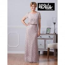 wedding photo - Blush Silver Ursula 31414 Ursula of Switzerland - Top Design Dress Online Shop