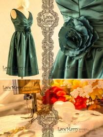 wedding photo - Dark Green Prom Dress